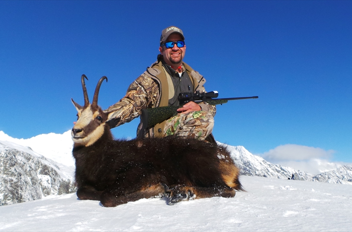 "Chamois  taken by Jay Jarrett during his 2015 ""Shane Quinn Alpine Hunting New Zealand"" trip."
